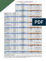 Calendario de Provas Avp1 2014 1 Administracao Noite
