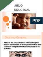 Manejo Conductual 2014 Profesoras HA