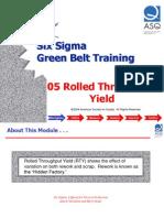 05 Rolled Throughput Yield
