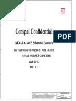 Compal La-3401p Gtu6 Schematics