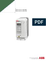 ES ACS800-01 Manual de Hardware HW K 27-06-2013
