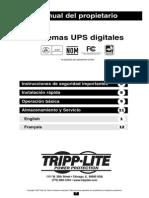 Owners Manual for Digital UPS 932663 ES