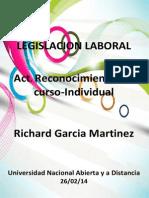 Legislacion Laboral Richard Garcia Martinez