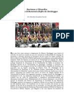 193540974 Racismo y Filosofia Sobre Los Schwarzen Hefte de Heidegger Por Nicolas Gonzalez Varela