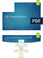 Worldwide Armies and the Organizational structure followed