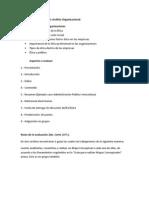 Metodologia de evaluación II Corte Sección NO501 Análisis Organizacional