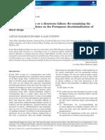 Review - Portuguese Drug Decriminalisation