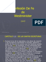 ConfesionDeFe-Westmiister en Power Point