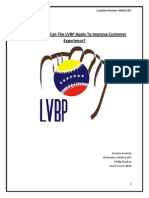 What Changes Can the LVBP Apply to Improve Customer Experience