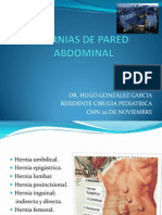 Hernias de Pared Abdominal+