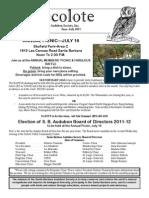 July 2011 Santa Barbara Audubon