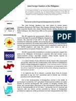 Immigration - JFC Statement Mar 2014
