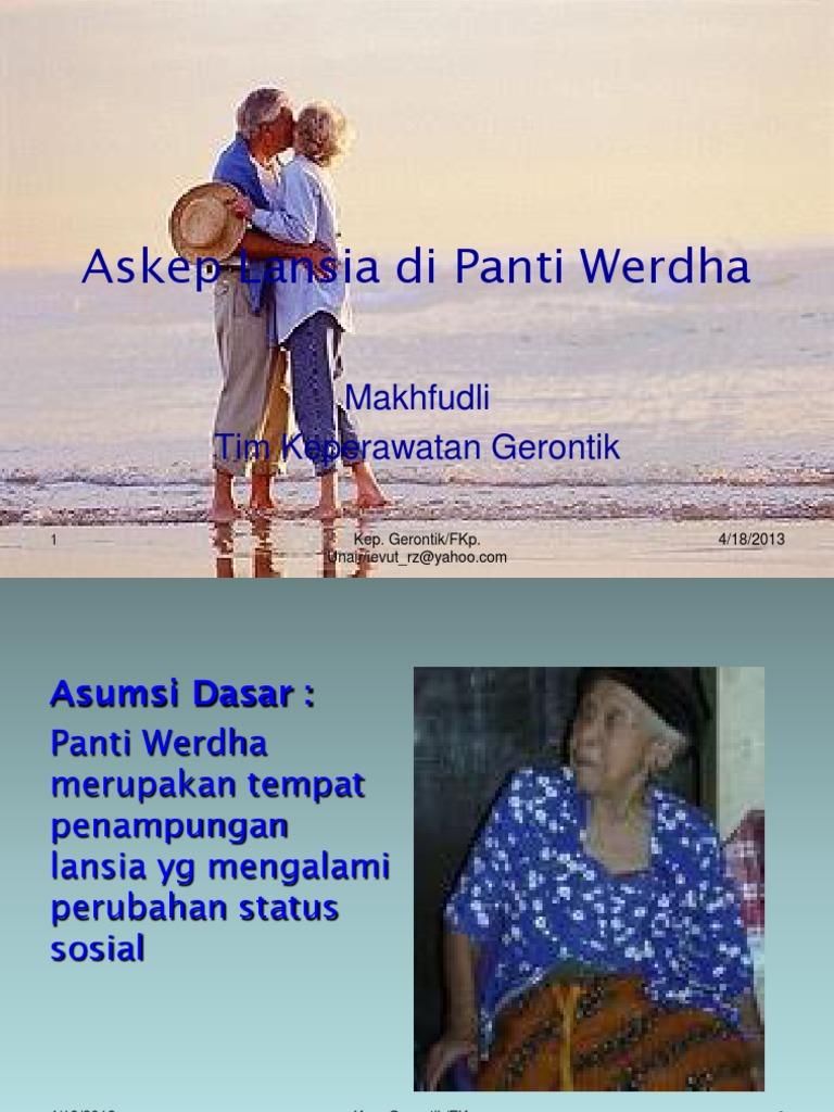 Askep Lansia Panti Werdha New