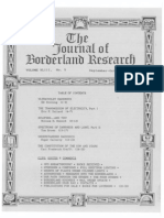 Journal of Borderland Research - Vol XLIII, No 5, September-October 1987