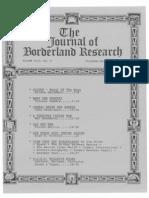 Journal of Borderland Research - Vol XLIV, No 6, November-December 1988