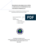Pembahasan Difraksi, Interferensi, Dan Pembiasan