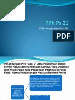 Presentasi Pajak PPh Ps 21