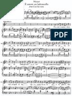 Mozart - È amore un ladroncello