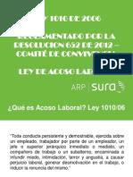 Ley 1010 2006 Acoso Laboral