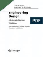 Engeneering Desing Sistematic Aproach