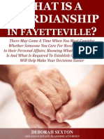 What Is a Guardianship in Fayetteville?