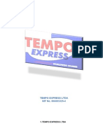 TEMPO EXPRESS LTDA Auditoria Informatica...
