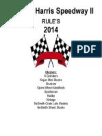 Shs Rules 2014