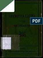Gramatica Latina de Iriarte