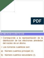 Clase 4 numeros cuanticos  4º