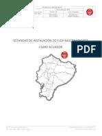 2. Estandar de Instalacion 2G Flexi Multiradio BTS AMX Ecuador_v1.0