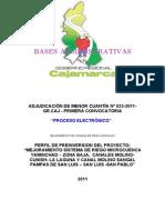 Bases Amc No 023-2011 (Mejoramiento de Canales de Riego Agricola)