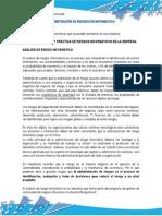 ADMINISTRACIÓN DE RIESGOS EN INFORMATICA