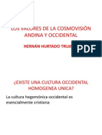 cosmovisión andina-occidental