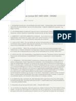 Interpretacion de Las Normas ISO 14001