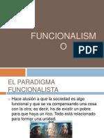 paradigma funcionalista