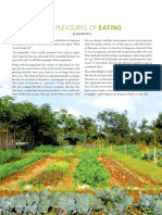 THE PLEASURES OF EATING By Wendell Berry (Edible Nation)