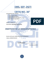 Sexto Semestre Administracion Objetivos de La Mercadotecnia (1)