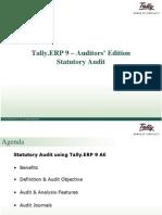 Statutory Audit Presentation