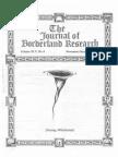 Journal of Borderland Research - Vol XLV, No 6, November-December 1989