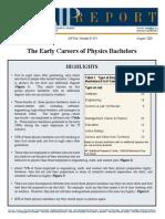 Physics Bachelors Careers