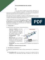 TÉCNICAS INSTRUMENTALES DEL ANÁLISIS - informe