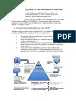Briefing Paper on Land Redist Policies