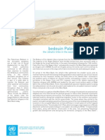 UNRWA Factsheet - Jahalin Tribe 2012