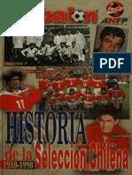 Revista Don Balón. Especial. Historia de la Selección chilena 1910 - 1998