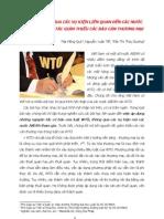HỌC LUẬT WTO QUA CÁC VỤ KIỆN LIÊN QUAN ĐẾN CÁC NƯỚC ASEAN - NGUYÊN TẮC GIẢM THIỂU CÁC RÀO CẢN THƯƠNG MẠI