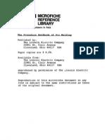 the Procedure Handbook of Arc Welding