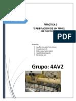 Calibracion de Tunel de Succioon