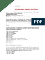 2.3 Tratados internacionale firmados por México