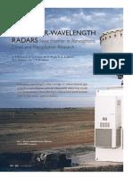 Millimeter-Wavelength Radars