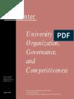 University Organization